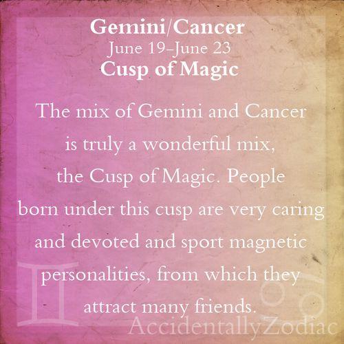 Gemini/Cancer Cusp Part 1
