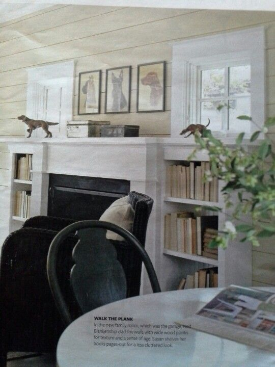 Bookcase window and fireplace craftsman style | love laced dreams | build me | Pinterest ...