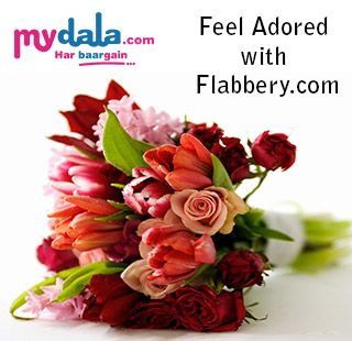 Are you looking for gift or flower for your special one then why don't you go through Flaberry.com. It is one of the best site where you find flowers for your special one. As well flaberry.com provides you deals or coupons to get some discount on flowers. Get deals or coupons from mydala.com and save your money.