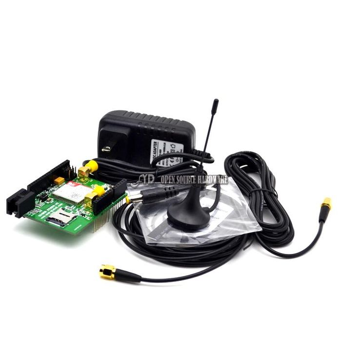 GPS GPRS Shield based on SIM808 SIMCOM SMS MMS GSM, for UNO