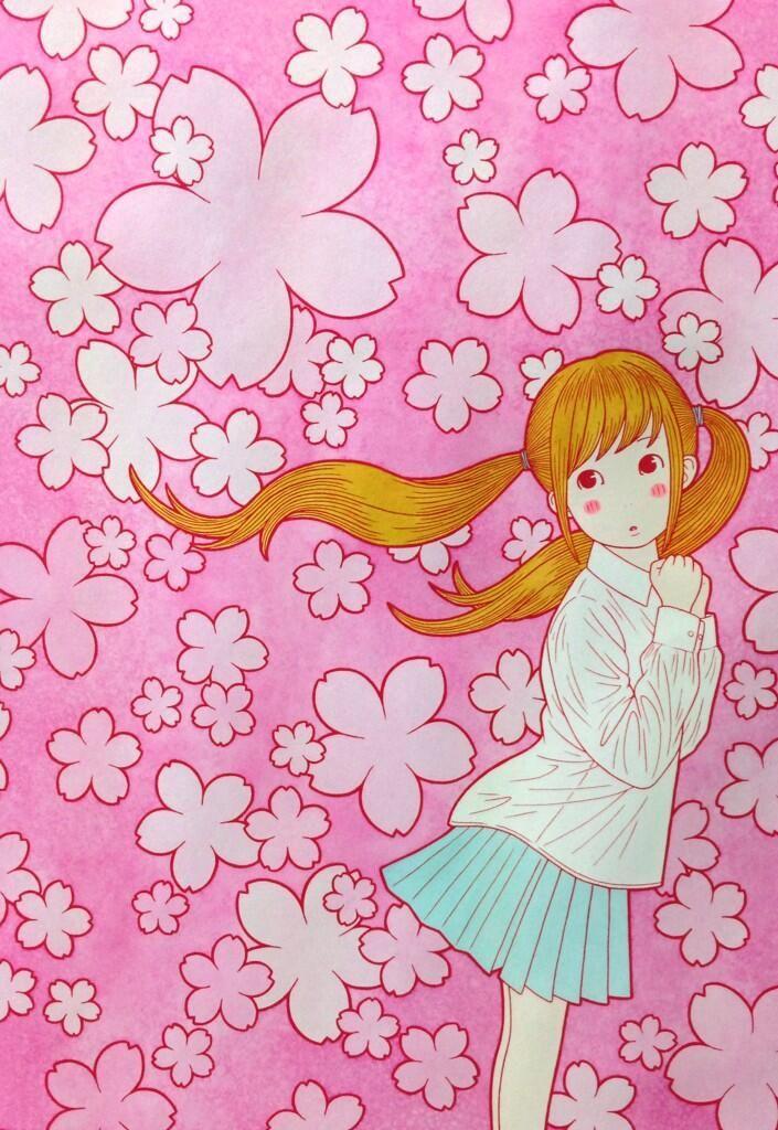 桜と女の子 pic.twitter.com/zw6AZ937iC