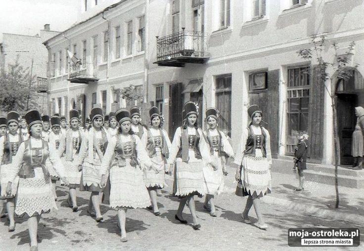 Ostrołęka powojenna (fot. archiwum prywatne)/ ul.Kilinskiego- 1 Maja 1960
