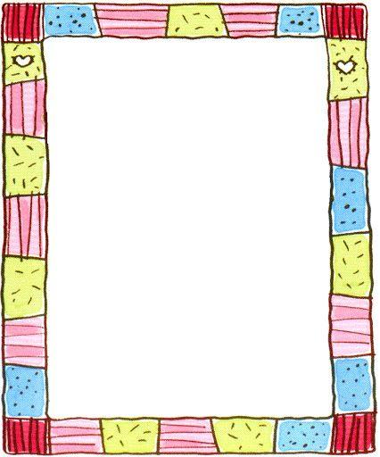 bordes para decorar imagenes y dibujos para imprimir