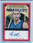 For Sale - Greg Stiemsma 2013-14 NBA Hoops RED AUTO ROOKIE CARD SP/199 New Orleans Pelicans - http://sprtz.us/PelicansEBay