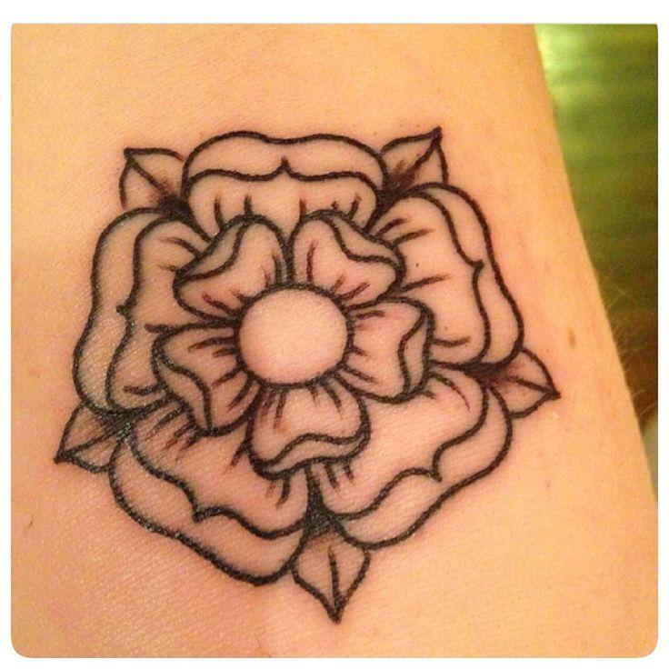 Tudor rose tattoo!