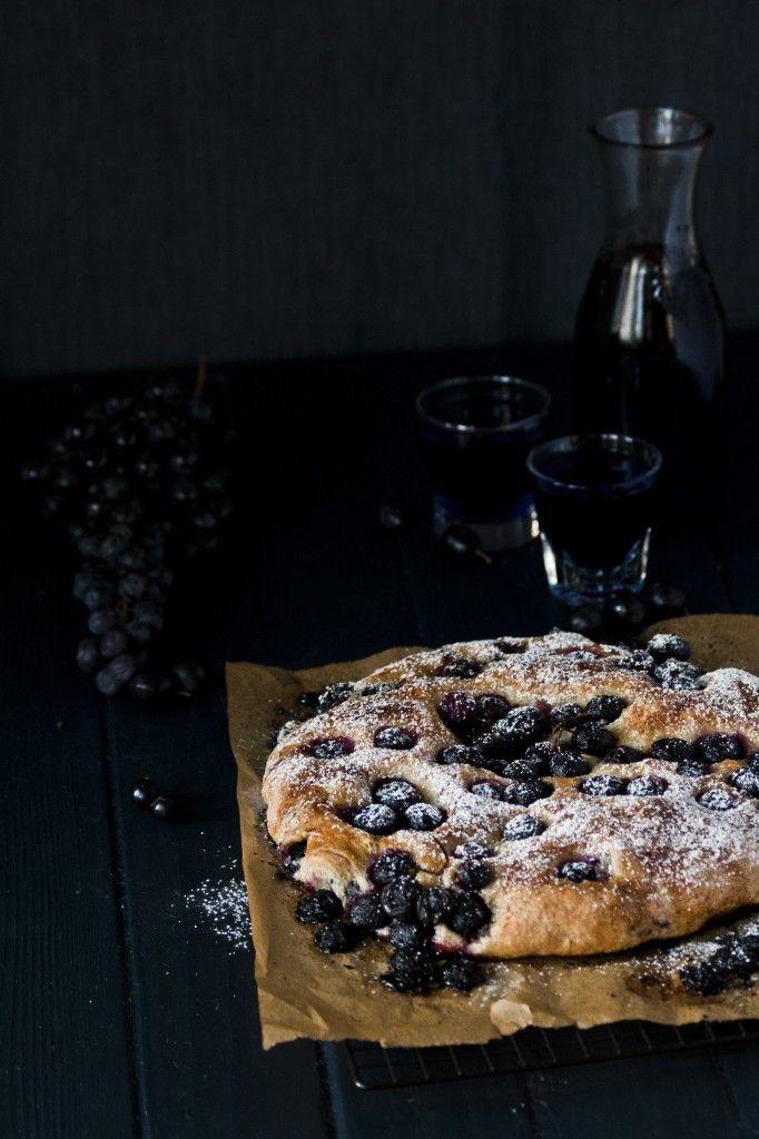 Black Grape Focaccia
