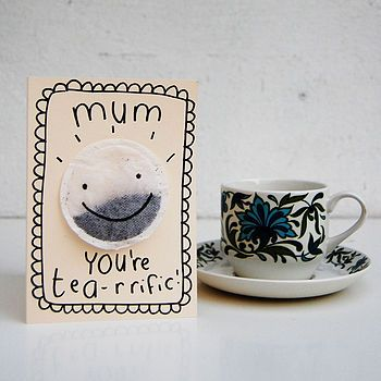customised mother's day card for all the tea-rrific mum's, mummy's & ma's out there. Not forgetting granny's & nanny's too! Teeandtoast.com