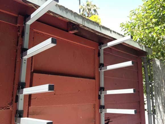 Lumber yard storage racks woodworking projects plans for Lumber yard storage racks