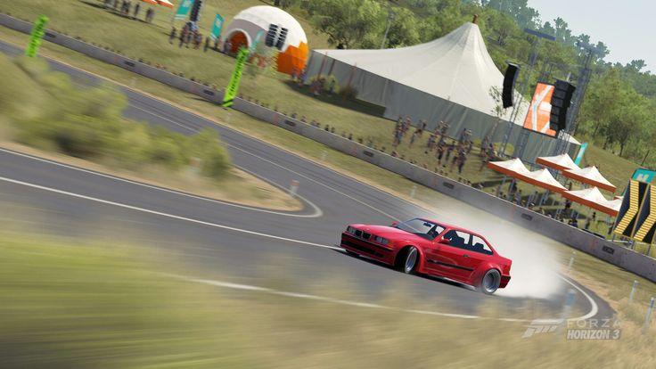 1997 BMW M3 Horizon Edition Drifting Forza Horizon 3