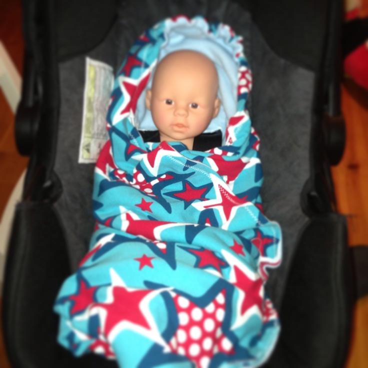 Filt/Åkpåse till babyskydd