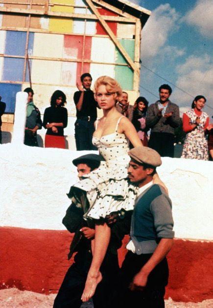 Brigitte Bardot in Les Bijoutiers du clair de lune (1958).