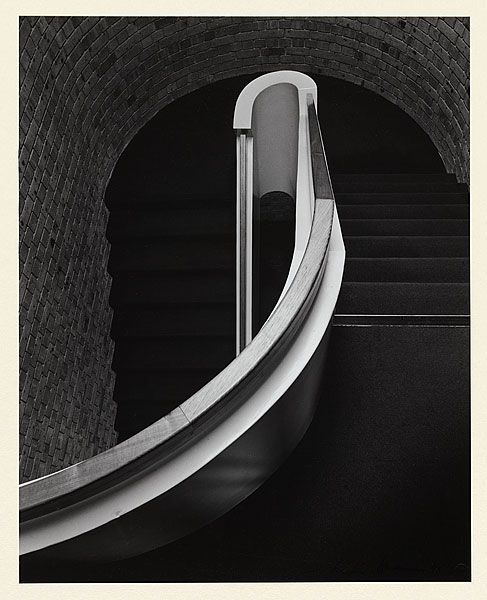Max DUPAIN, Stair rail 1975; gelatin silver photograph 37.8x30.2cm © Max Dupain. National Gallery of Australia collection