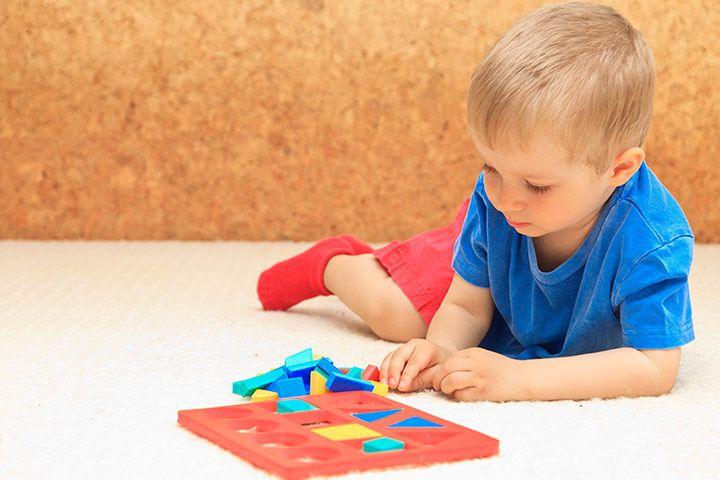 Shape Activities For Preschoolers Puzzle Shapes