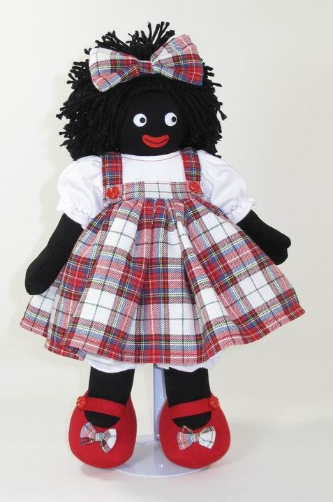 Just adorable....love the tartan.