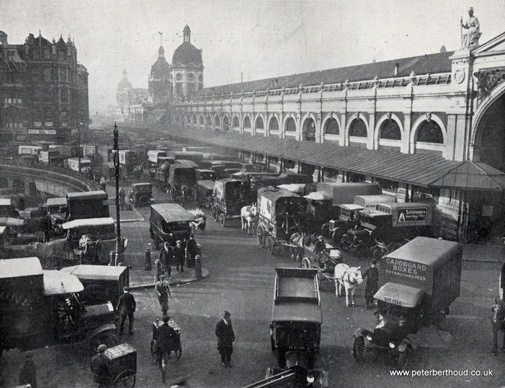 London Central Markets, Smithfield (1930)