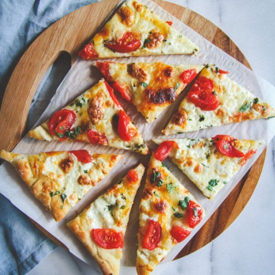 Herb Butter and Cheese Flatbread (foodgawker » no desserts gallery