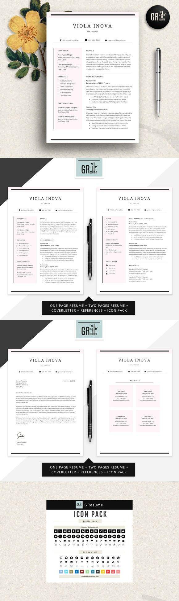 Resume Template CV Template 02