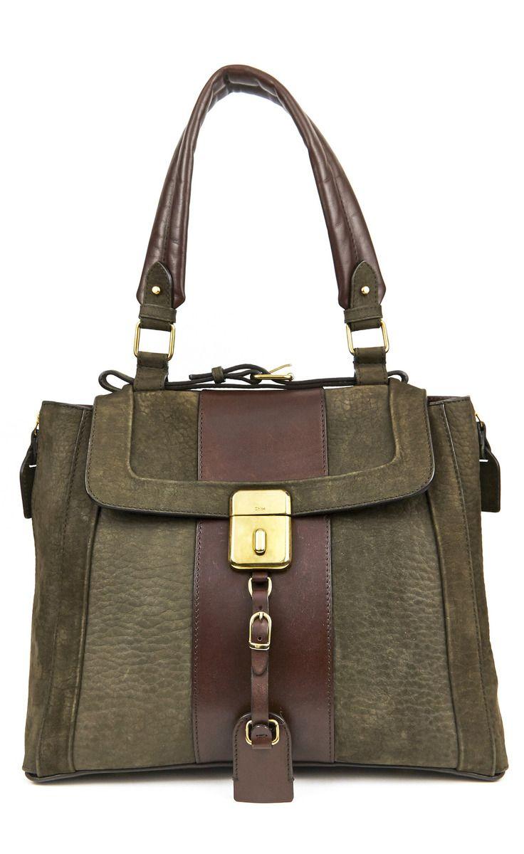Chloé Tan And Brown Handbag | VAUNTE
