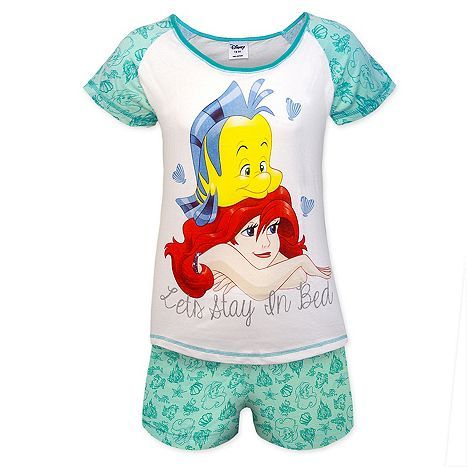 9f0d5af6c Tesco direct  Disney Minnie Mouse Eeyore Ladies Short Pyjamas ...