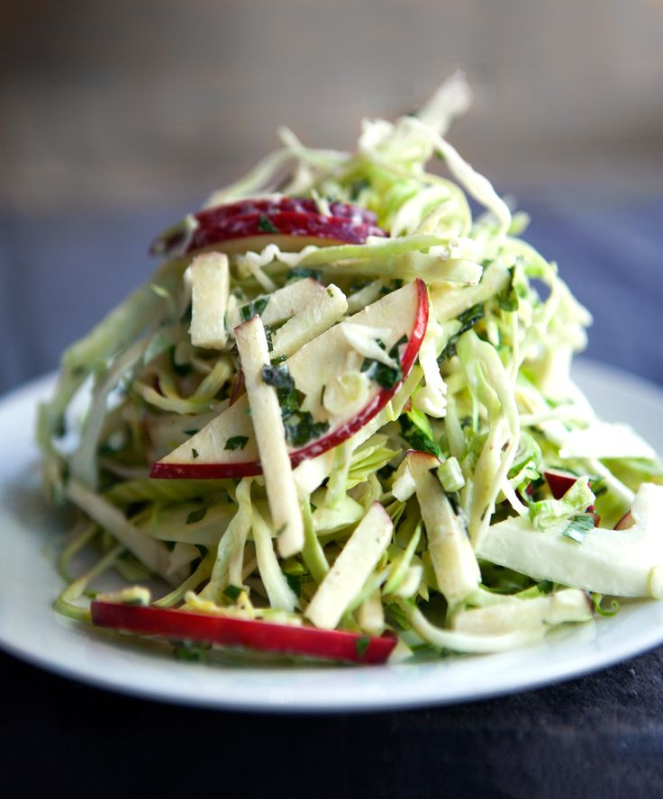 Apple Slaw | A must-have on a Southern Thanksgiving table, we lighten up this…