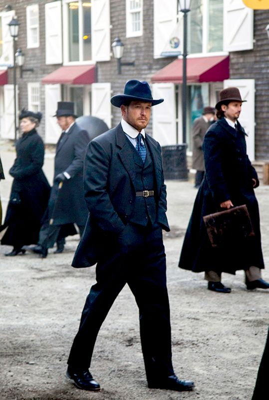 Cole Hauser as Charlie Siringo in The Lizzie Borden Chronicles