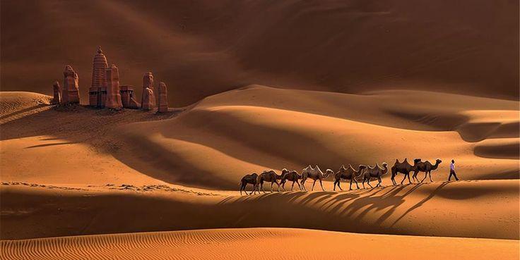 De Xian al desierto del Taklamakán, siguiendo el mítico recorrido