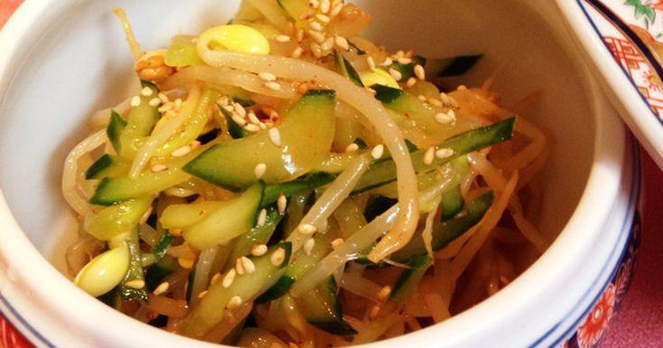 キムチの素で簡単美味しい♩豆もやしナムル by となりのトットロ [クックパッド] 簡単おいしいみんなのレシピが239万品