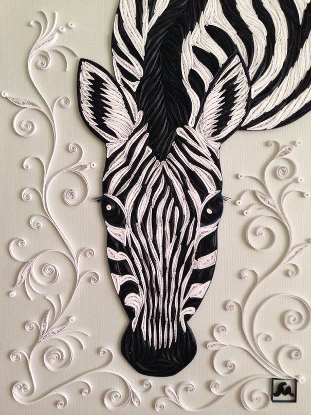 Madinas wall photos · quilling animalsquilling artwall