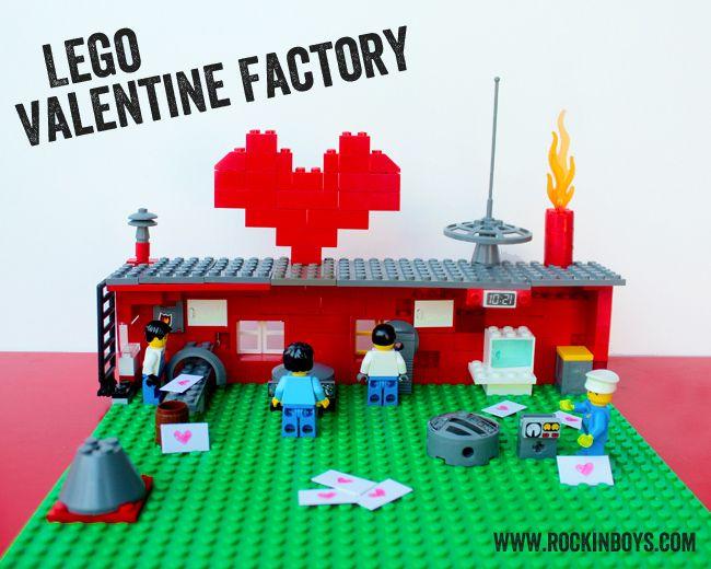 Lego Valentine Factory #lego