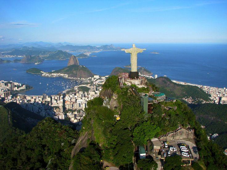 Чудо света.Статуя Христа-Искупителя в Бразилии.