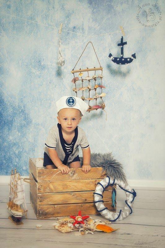 Fotonostalgia: Mały mężczyzna swojej Mamy