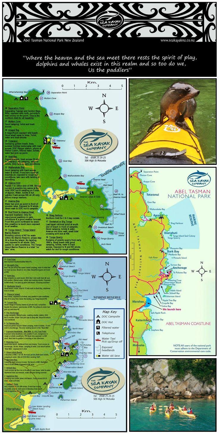 The Sea Kayak Company - Abel Tasman National Park, South Island, New Zealand