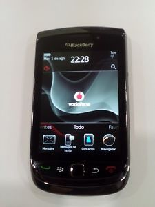 a 2x1 blackberry 9800 charcoal vodafone