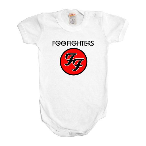 Foo Fighters Baby Boy Girl One Piece Music Rock Metal Punk Cool Bodysuit Romper Clothing Outfit Cool Funny on Etsy, $15.56 CAD