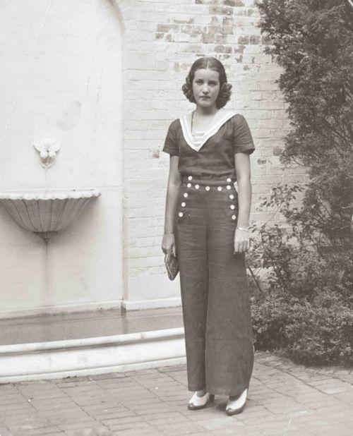 Edith Bouvier Beale East Hampton, New York 1936