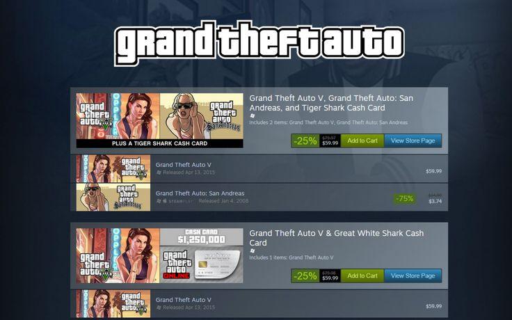 GTA V Steam Summer Sale Mishap Haunts Valve