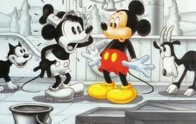 Steamboat Willie & Classic Mickey!! Funny & Cute!! ❤