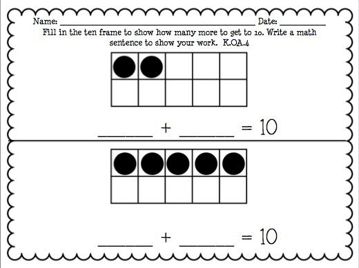 All Worksheets  Numeracy 123 Worksheets  Printable Worksheets