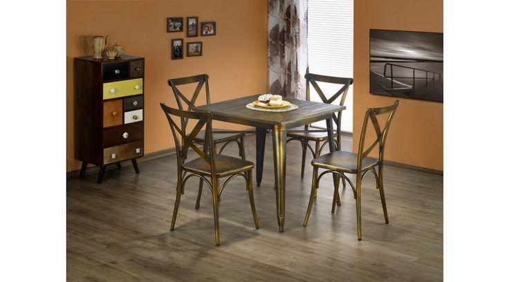 MAGNUM négyzetes asztal K205 székekkel