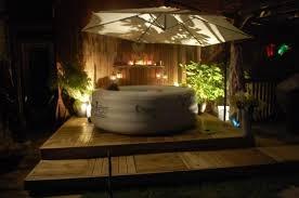 Lay Z Spa Decking In 2019 Hot Tub Garden Hot Tub