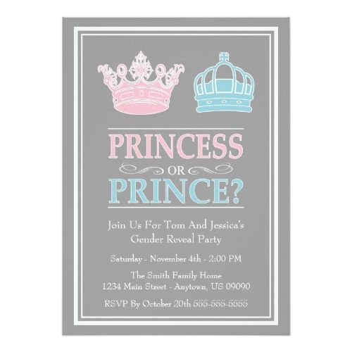 The 120 best Gender Reveal Party Invitations images on Pinterest