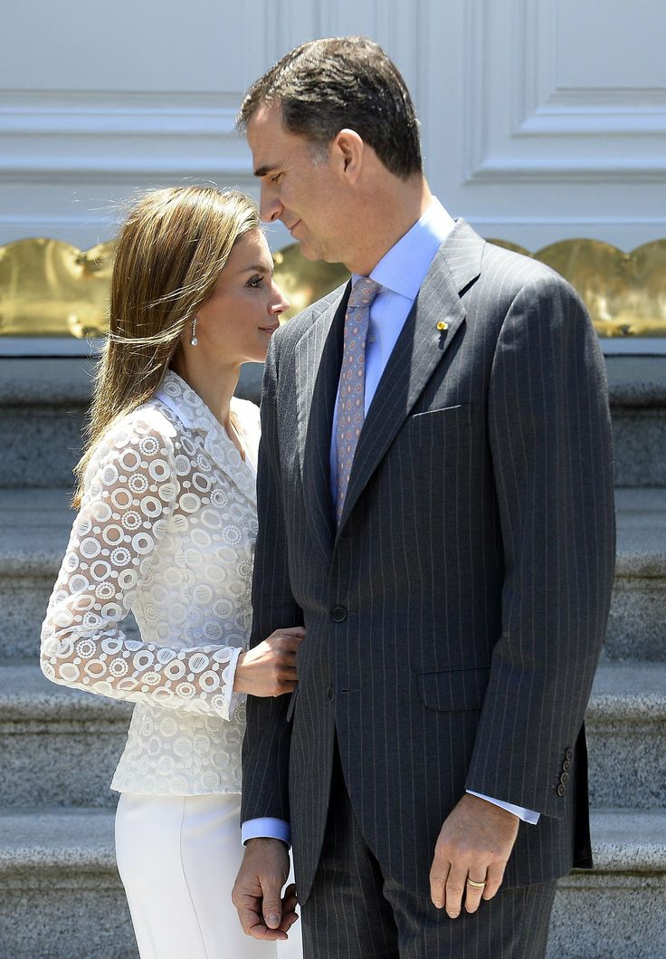 Spain's soon-to-be king and queen