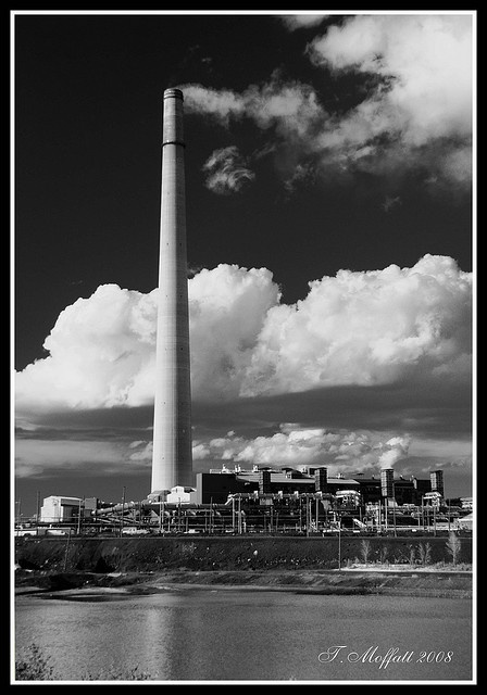 Sudbury, Ontario. One claim to fame when I visited was having the world's tallest smokestack.