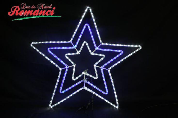 Luz de Natal - Produtos - Figuras Iluminadas com Mangueira de Led - Enfeites Natalinos
