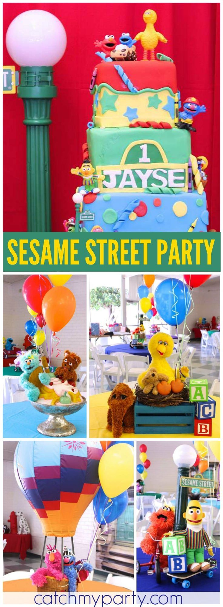 Elmo 1st birthday party ideas birthday party sesamestreet - Sesame Street Birthday Sesame Street Sesame Street Partysesame