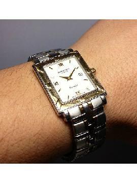 Vintage Raymond Weil Ladies Watches | ... Raymond Weil Parsifal Stainless Steel & 18KT Man's Rectangular Watch