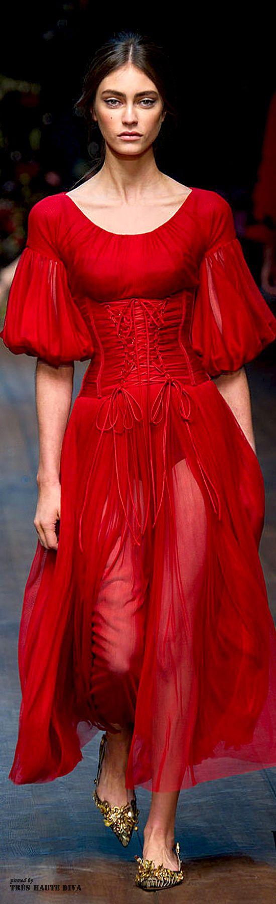 Colección Dolce & Gabbana inspirada en la Edad Media.