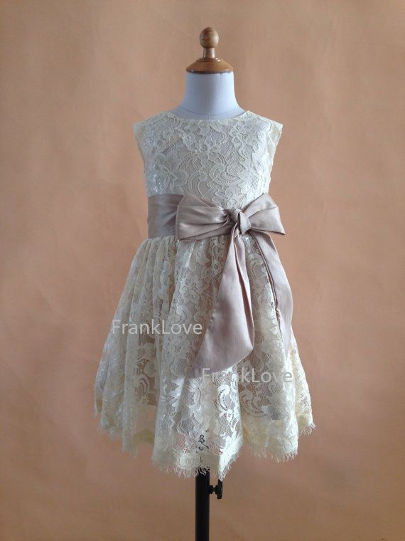 Hey, I found this really awesome Etsy listing at https://www.etsy.com/listing/176921654/lace-flower-girl-dress-bow-sash-a-line
