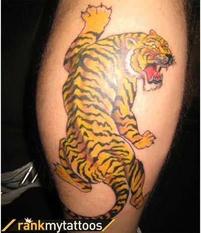 Best tiger tattoo designs our top 10 tiger tattoo for Best tiger tattoos
