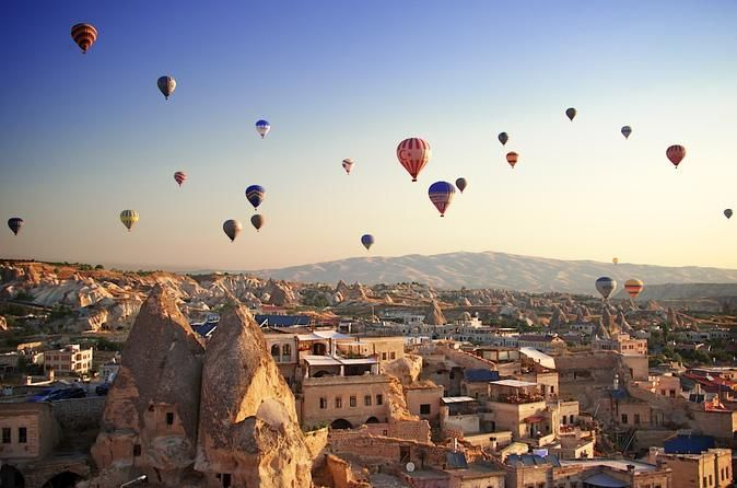 8-day Turkey Specials Tour: Istanbul, Cappadocia, Kusadasi, Pamukkale and Ephesus This is an 8-day Turkey tour package with local tours and transportation organized through local guides and inter-city transportation arranged through commercial airlines. Excellent opportunity to explore the most important sites of Turkey within a week.Day 1: Arrival to Istanbul: Transfer to hotel in Sultanahmet area. Accommodation in Istanbul.Day 2: Istanbul Old City Tour: Visit Topkapi Palace,...